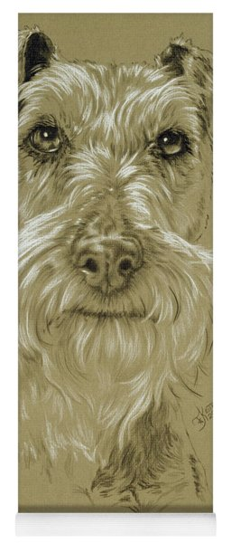 Irish Terrier Yoga Mat