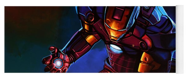 Iron Man Yoga Mat