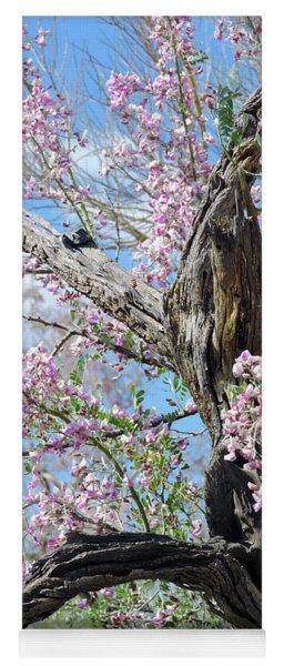 Ironwood In Bloom Yoga Mat