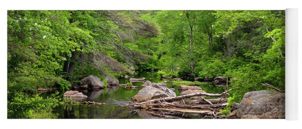 Isinglass River, Barrington, Nh Yoga Mat