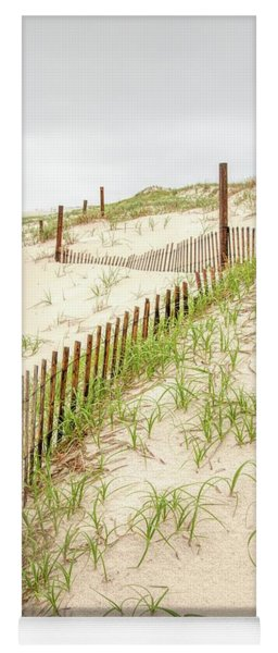 Island Beach Dunes Yoga Mat