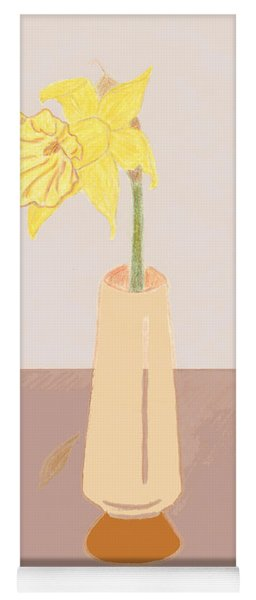 Island Daffodil Yoga Mat