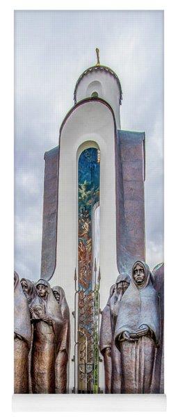 Island Of Tears Afghanistan Memorial Yoga Mat