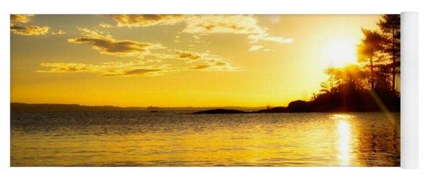 Island Sunset Yoga Mat