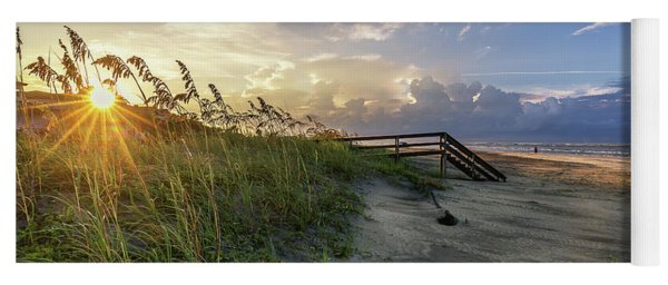 Isle Of Palms Sunstar Yoga Mat
