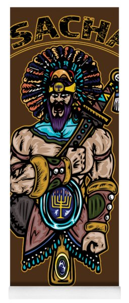 Issachar Aztec Warrior Yoga Mat