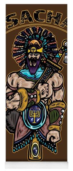 Issachar Aztec Warrior Tsd Yoga Mat