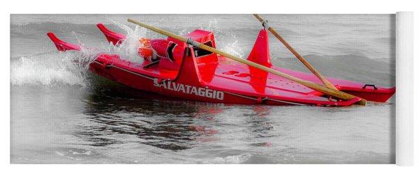 Italian Life Guard Boat Yoga Mat