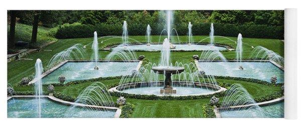 Italian Water Garden Yoga Mat