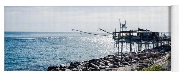 Italy - The Trabocchi Coast 2  Yoga Mat