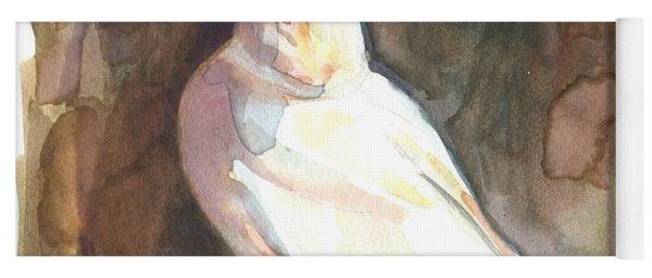 Ivory Gull Yoga Mat