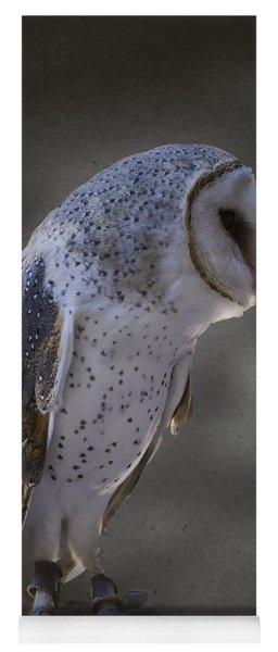 Ivy The Barn Owl Yoga Mat
