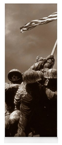 Iwo Jima War Memorial Washington Yoga Mat