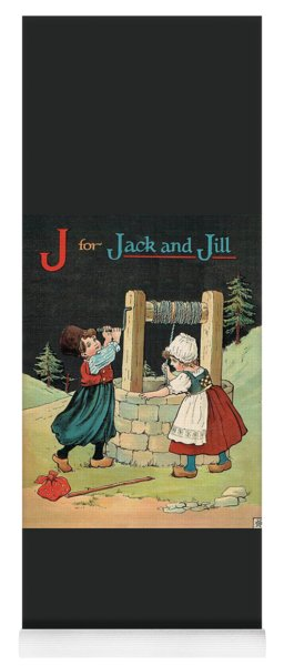 J For Jack And Jill Yoga Mat