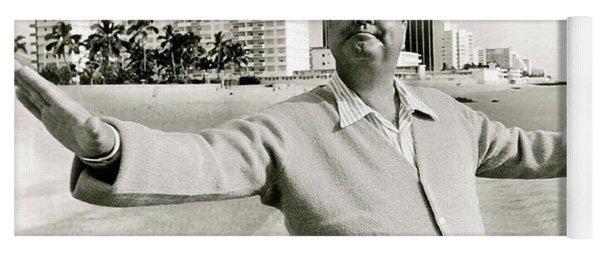 Jackie Gleason, How Sweet It Is, Miami Beach, Fl Yoga Mat
