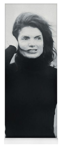 Jackie Kennedy - Painting Yoga Mat