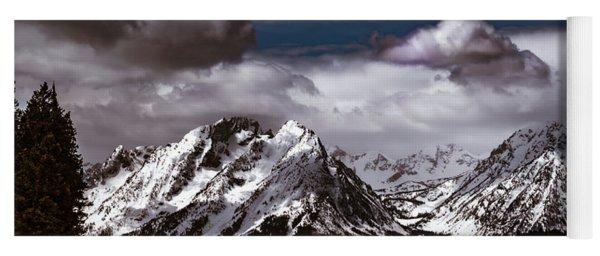 Jackson Lake Peaks Yoga Mat