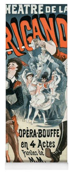 Jacques Offenbach  Les Brigands Vintage Poster Yoga Mat