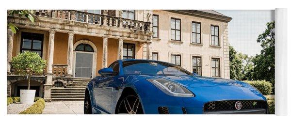 Jaguar F-type - Blue - Villa Yoga Mat