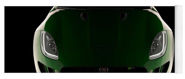 Jaguar F-type - Front View Yoga Mat
