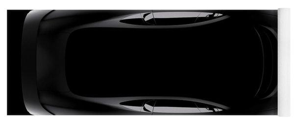 Jaguar Xj220 - Top View Yoga Mat