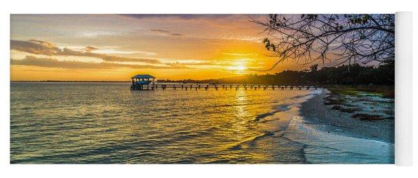 James Island Sunrise - Melton Peter Demetre Park Yoga Mat