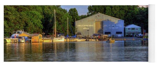 James River Marina 2 Yoga Mat