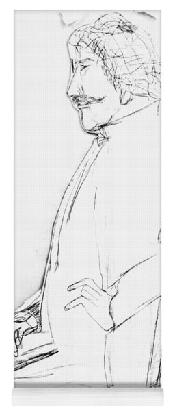 James Whistler's Portrait Yoga Mat