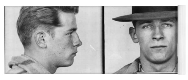 James Whitey Bulger Mug Shot 1953 Horizontal Yoga Mat