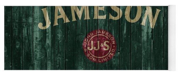 Jameson Irish Whiskey Barn Door Yoga Mat
