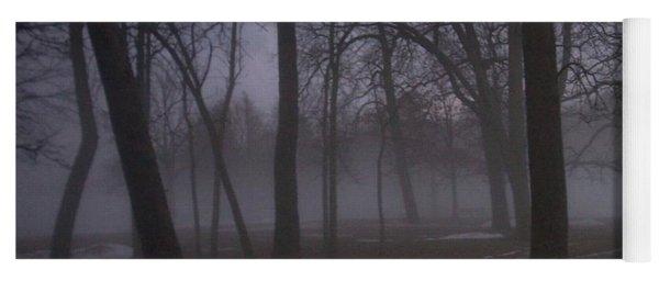 January Fog 2 Yoga Mat