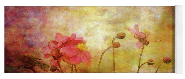 Japanese Anemone Landscape 3959 Idp_2 Yoga Mat