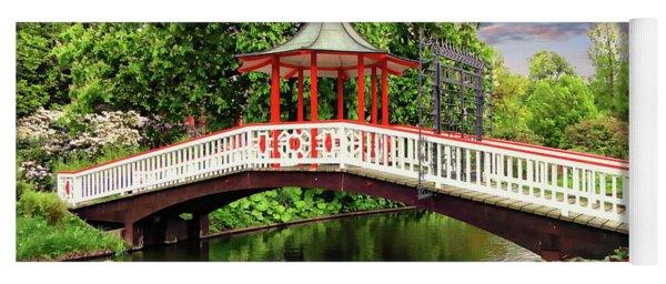 Japanese Bridge Garden Yoga Mat
