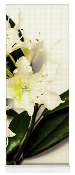 Japanese Flower Art Yoga Mat