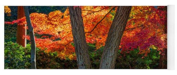 Japanese Garden Grove Yoga Mat