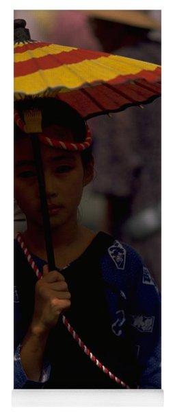 Japanese Girl Yoga Mat