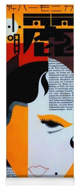 Japanese Music Cover 1930s Yoga Mat
