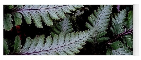 Japanese Painted Fern Yoga Mat