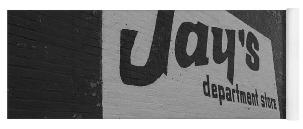 Jay's Department Store In Bw Yoga Mat