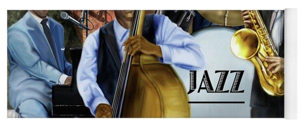 Jazz Jazz Jazz Yoga Mat