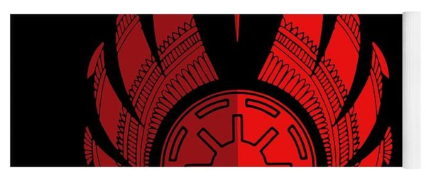 Jedi Symbol - Star Wars Art, Red Yoga Mat