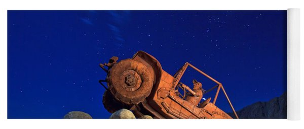 Jeep Adventures Under The Night Sky In Borrego Springs Yoga Mat