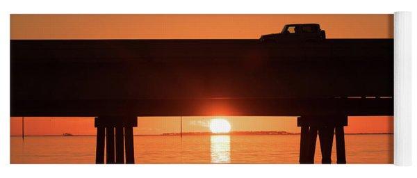 Jeep Sunrise Yoga Mat