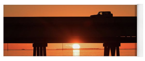 Jeep Sunrise Yoga Mat