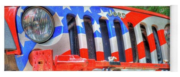 Jeep Usa Yoga Mat