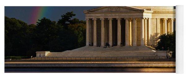 Jefferson Memorial Yoga Mat