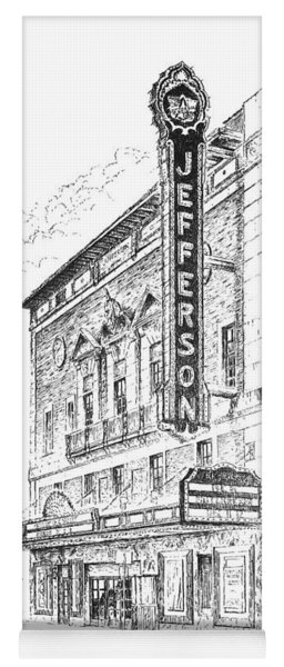 Jefferson Theatre Yoga Mat