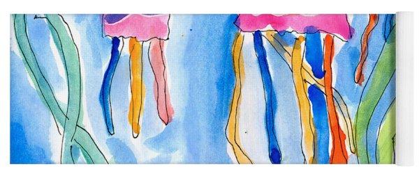 Jellyfish Yoga Mat