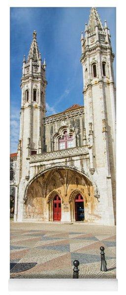 Jeronimous Monastery, Lisbon, Portugal Yoga Mat
