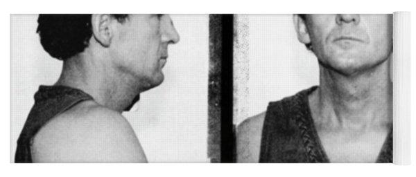Jerry Lee Lewis Mug Shot Horizontal Yoga Mat